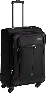 3a0fad4c1a0 American Tourister Crete Polyester 67 cms Black Softsided Suitcase (49W (0)  09 002