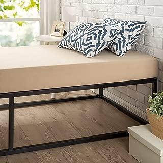 "Zinus Joesph Modern Studio 14 Inch Platforma Bed Frame / Mattress Foundation in Narrow Twin / Cot size / 30"" x 74.5"" / Box Spring Optional / Wood Slat Support"