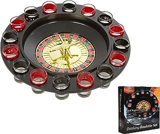 EZ DRINKER Shot Spinning Roulette Game Set (16-Piece)