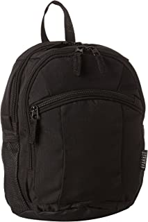 Everest Deluxe Small Backpack, Black, One Size