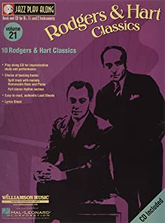 ジャズ・プレイ・アロング 第21巻: ロジャーズ & ハート クラシック: カラオケ & 伴奏CD付/ハル・レナード社/サクソフォン・ソロ