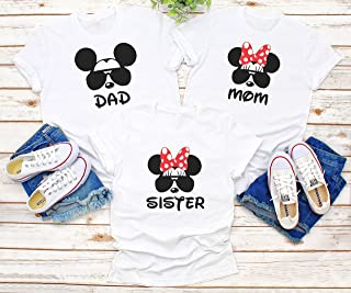Disney family matching custom t-shirts, Family vacation disney shirts,Mickey Minnie mouse Personalized shirt, Personalized Disney Shirts for FamilyD2