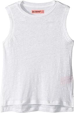 Blank NYC Kids - Sleeveless T-Shirt w/ Back Lacing Detail (Big Kids)