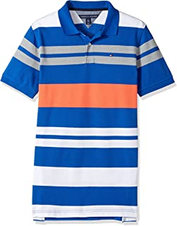 Tommy Hilfiger Boys' Short Sleeve Striped Polo Shirt
