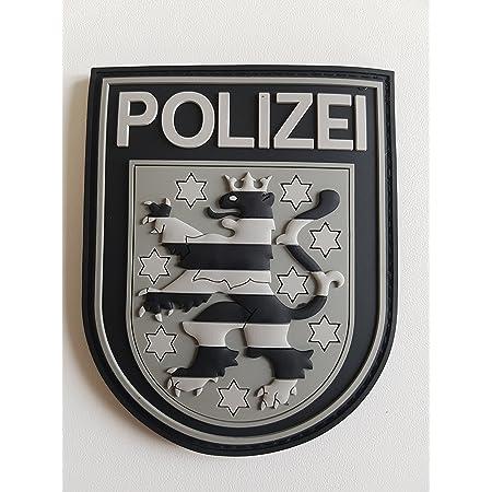 Atg Ärmelabzeichen Polizei Thüringen 3 D Rubber Patch Blackops Auto
