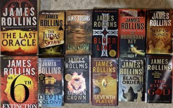 Sigma Force Series Set by James Rollins 10 Book Set