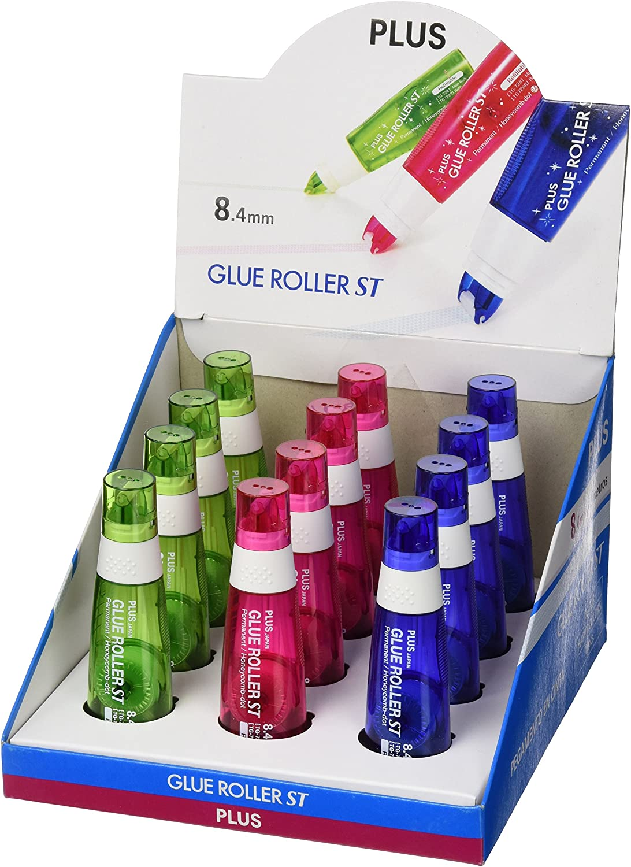 Plus Japan ST Happy Farbes Kleberoller, 12 Stück Stück Stück B00NXLEC52 | Deutschland Frankfurt  0ccb06