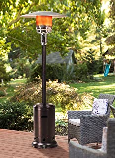 Sunjoy Lawrence Floor-Standing Patio Heater, 88