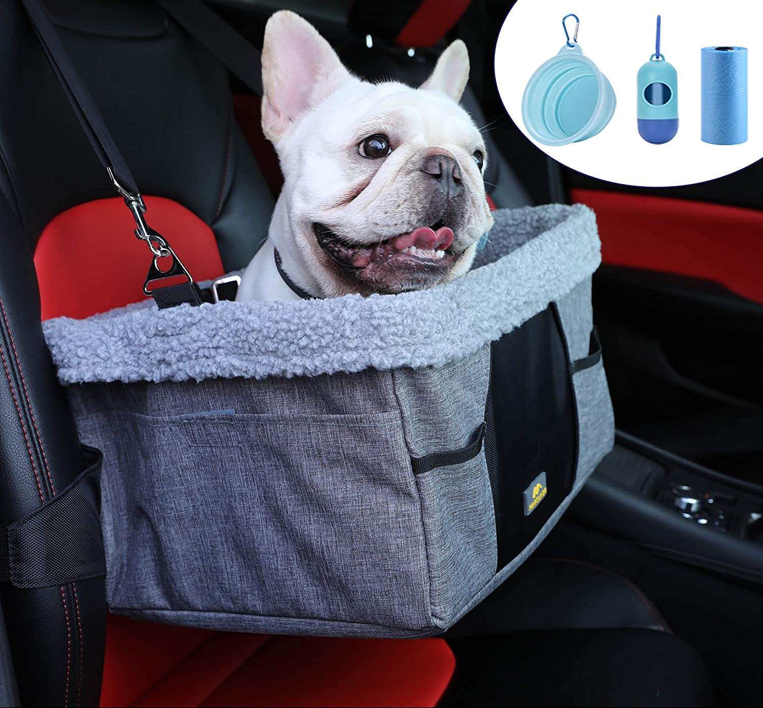 LIMETEK Pet Car Discount mail order Booster Seat with Dogs Bargain Elevated Me for