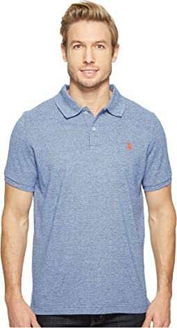 Twisted Yarn Polo Shirt