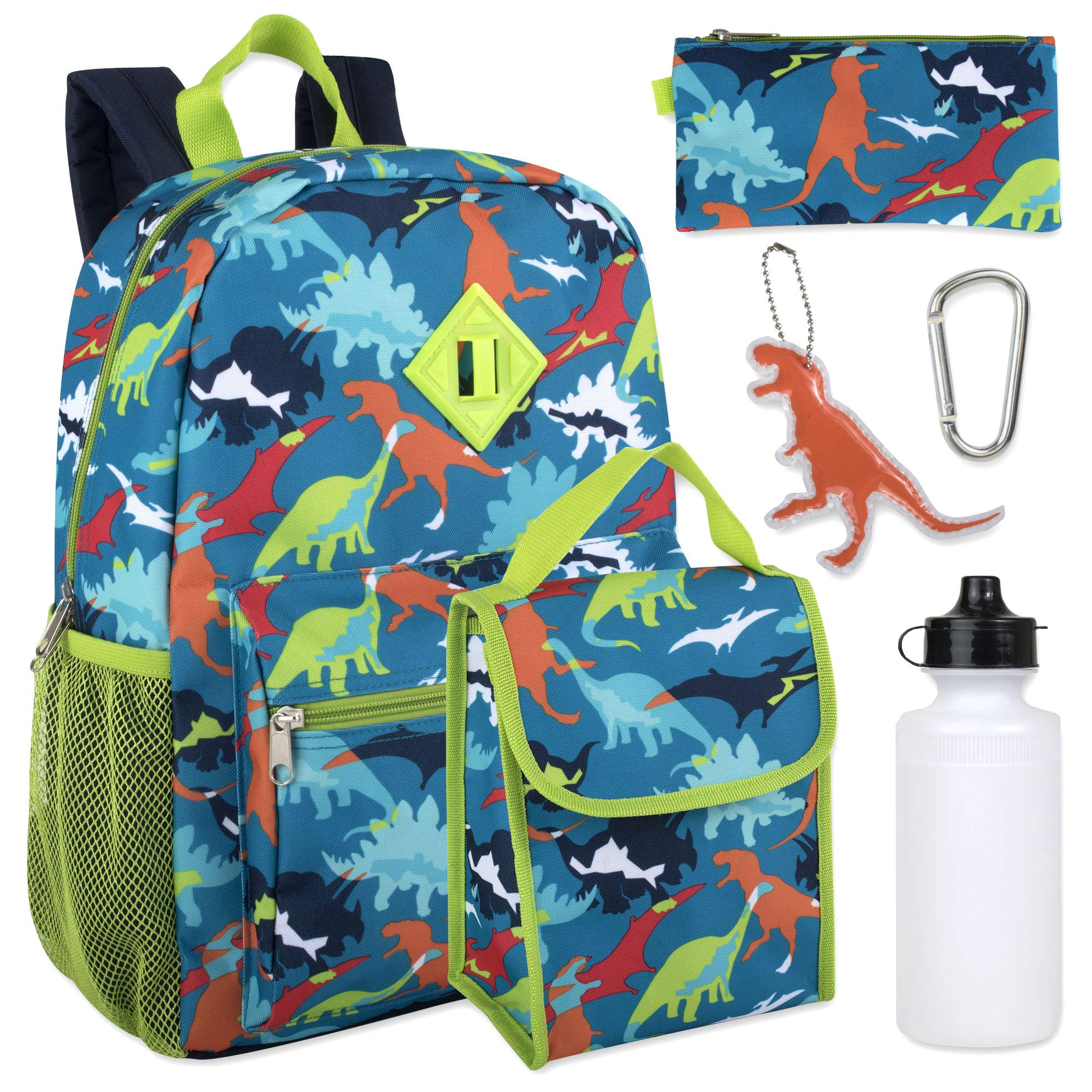 Backpack Pencil Bottle Keychain Dinosaurs