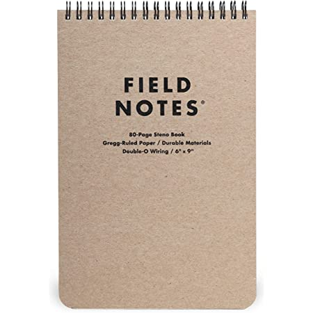 """Field Notes - Steno Pad, 80 Pages - 6"""" x 9"""""""