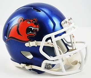 Riddell NCAA US Coast Guard Academy Bears Helmet Mini SpeedHelmet Replica Mini Speed Style, Team Colors, One Size