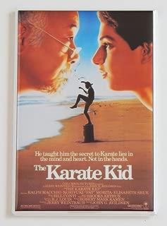 Karate Kid Movie Poster Fridge Magnet (2 x 3 inches)