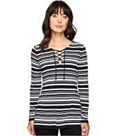 MICHAEL Michael Kors - Ardennais Lace-Up Tunic