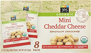 365 Everyday Value, Mini Cheddar Cheese Sandwich Crackers, 8 ct