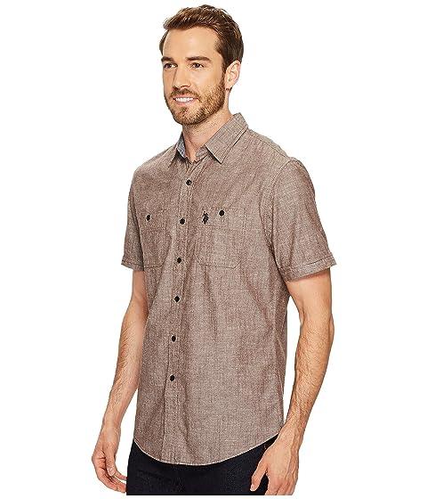 ASSN S Sleeve Shirt Slim Sport POLO U Fit Short qSE1dvw1x