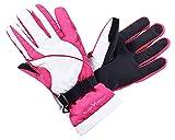 Black Crevice Kinder BCR121280 Handschuhe, amethyst/Weiß, XL