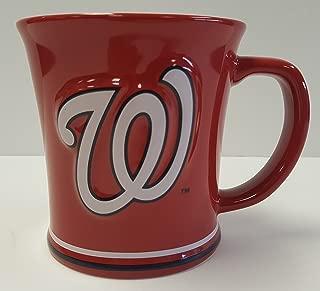 The Memory Company Washington Nationals 15 oz Sculpted Ceramic Coffee Mug