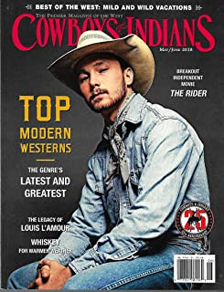 COWBOYS & INDIANS Magazine May June 2018 BRADY JANDREAU Cover,