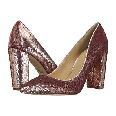 Jewel Badgley Mischka Luxury (Rose Gold Sequin) High Heels