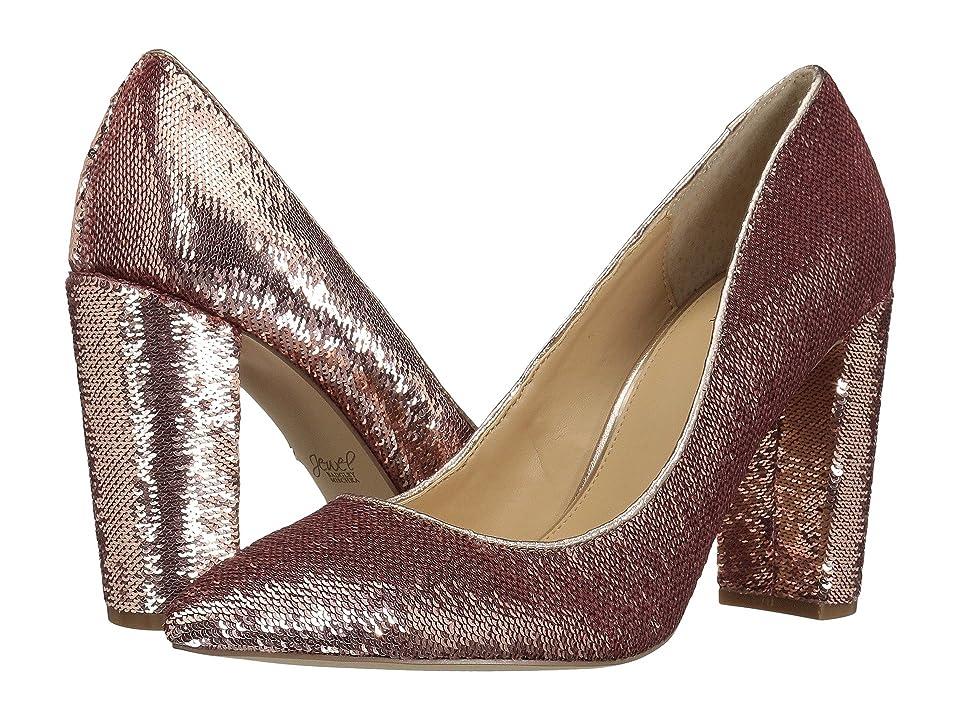 Jewel Badgley Mischka Luxury (Rose Gold Sequin) High Heels