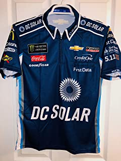 Extra Small SPARCO Kyle Larson DC SOLAR Pit Crew Shirt Nascar Ganassi MONSTER ENERGY Racing 1/4 ZIP Chevy Chevrolet