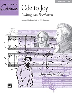 Ode to Joy (Theme from 9th Symphony): Sheet (Simply Classics Solos)