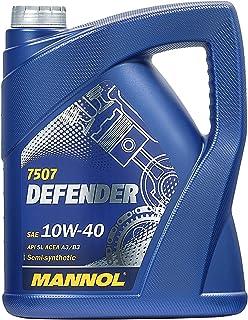 MANNOL 10256600500 Defender 10W40 SL/CF - Aceite semisinté