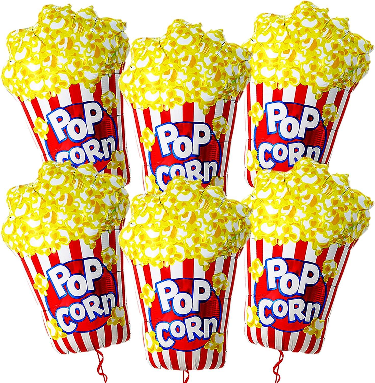 Foil Popcorn Balloons
