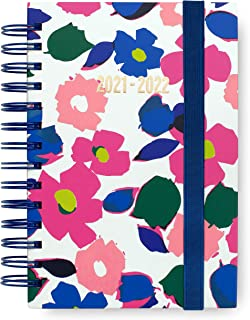 $24 » Kate Spade New York Medium Hardcover 2021-2022 Planner Weekly & Monthly, 17 Month Daily Diary Dated Aug 2021 - Dec 2022 wi...