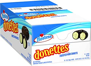 hostess chocolate frosted mini donuts calories