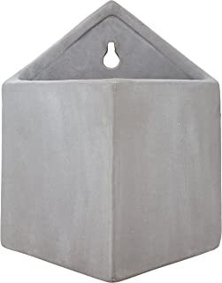 Rivet Pyramid-Shaped Wall Planter, 7.5
