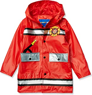 Boys Water Resistant Rain Jacket