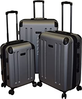 Kenneth Cole Reaction 8 Wheelin Collection Lightweight 3-PC Expandable Hardside Spinner Luggage Set (