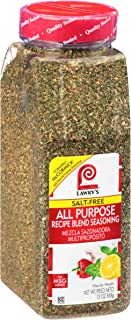 Lawry's Salt Free All Purpose Recipe Blend Seasoning, 13 oz