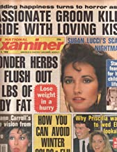 National Examiner 1986 Nov 4 Susan Lucci,Priscilla,Diahann Carroll,
