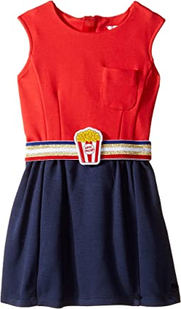 Little Marc Jacobs - Milano Pop Corn Belt Dress (Toddler)