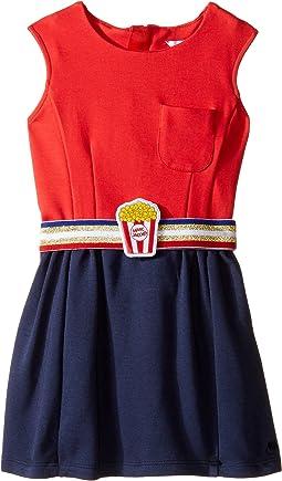 Little Marc Jacobs - Milano Pop Corn Belt Dress (Toddler)