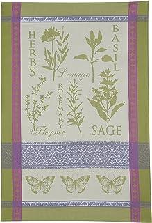 Kay Dee التصميمات المصنوعة من القطن من قماش الجاكار منشفة الشاي ، مقاس 18بوصة ، حديقة Rules
