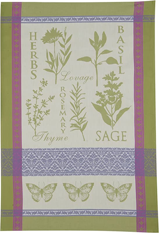 Kay Dee Designs Cotton Jacquard Tea Towel 18 By 28 Inch Garden Rules