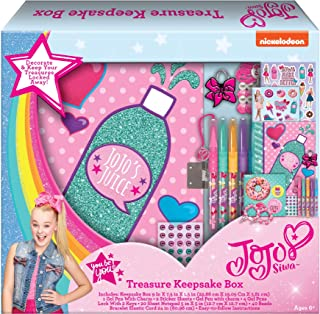 JoJo Siwa Treasure Box Crafts Art Kit with Bracelet, Stickers and Pens