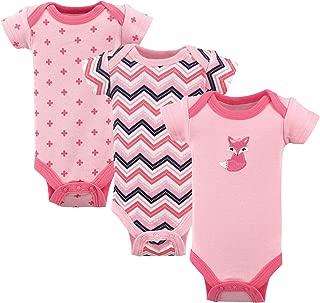 Baby Girls' Preemie Bodysuit, 3 Pack