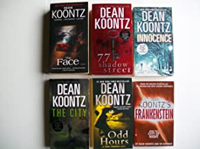 Dean Koontz Fantasy and Thrillers (Set of 6 Books): The Face, 77 Shadow Street, Innocence, The City, Odd Hours, City of Night