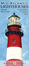 Mid-Atlantic Lighthouses: Illustrated Map & Guide - New Jersey, SE Pennsylvania, Delaware, Maryland & Virginia