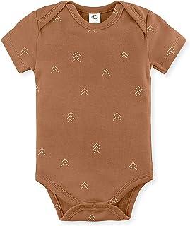 Colored Organics Unisex Baby Organic Cotton Bodysuit - Short Sleeve Infant Onesie