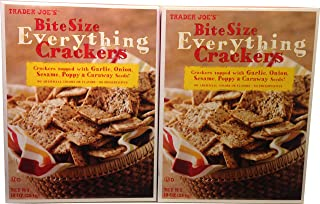 Trader Joes Bite Size Everything Crackers (2 Pack)