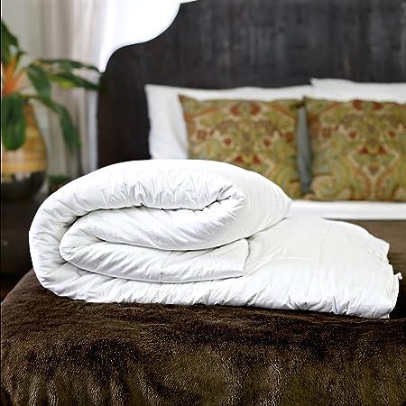 Silk Bedding Direct Couette en Soie. Continental Queen Size. Poids Été. 100% Soie de Mûrier. Hypoallergénique. 240 cm x 220 cm. Certification: Oeko-TEX® Standard 100. Faible Prix DE Vente