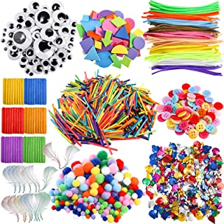 ZEAYEA 2750 Pieces Arts and Crafts Supplies, Assorted Craft Art Supply Kit for Kids, All in One DIY Crafting Materials Set...