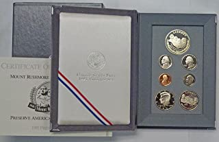 1991 mount rushmore anniversary coin set